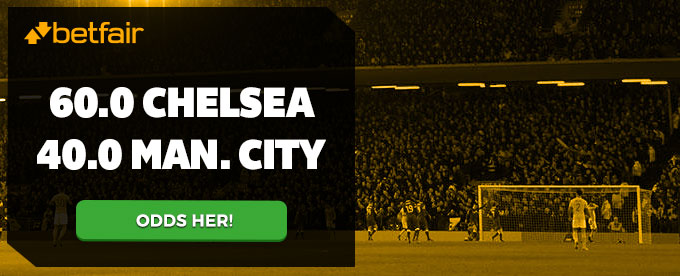 Super odds på Chelsea-Manchester City