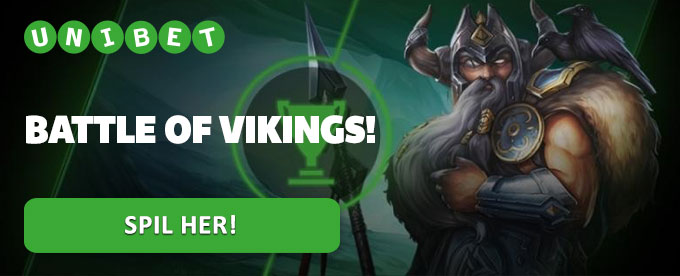 Battle of Vikings – Få free spins og vind 30.000 kr.
