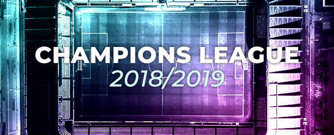 Champions League kampprogram 2018/2019