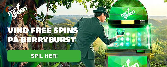 Berryburst spilleautomaten giver free spins