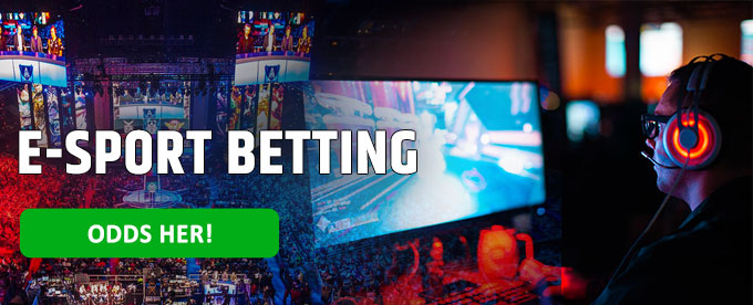 E-sport betting, odds, live streaming og spilforslag