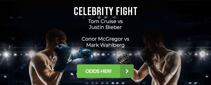 Odds på Justin Bieber vs Tom Cruise